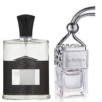 Aventus Creed hänelle innoittamana tuoksu 8ml kromi kansi pullo roikkuu auton ajoneuvon auto ilmanraikastin