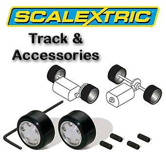 Scalextric akcesoria - Le Mans pakiet z 2 centra & opony