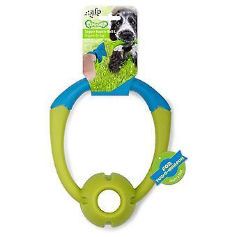 AFP Juguete Elástico Tugger   Handle Pelota L (Hunde , Spielzeug und Sport , Bälle)