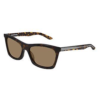 Balenciaga BB0006S 002 هافانا / براون النظارات الشمسية