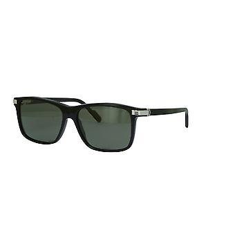 Cartier C de Cartier CT0160S 004 Schwarz/Polarisierte graue Sonnenbrille