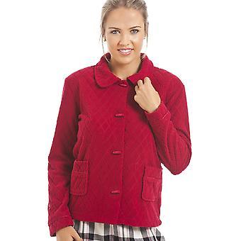 Камиль красный цветочные печати жаккардовые руно кровать куртка