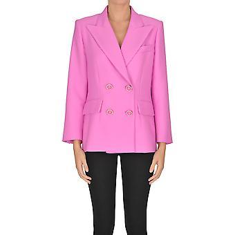 Mulberry Ezgl115008 Dames's Pink Cotton Blazer