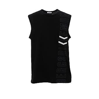 Bikkembergs B6t103131 Men's camiseta de algodón negro