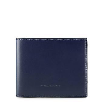 Piquadro Original Men All Year Wallet - Blue Color 55569