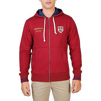 Oxford University Original Men Fall/Winter Sweatshirt - Red Color 55921