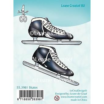 LeCrea Clear Stamp – Patines