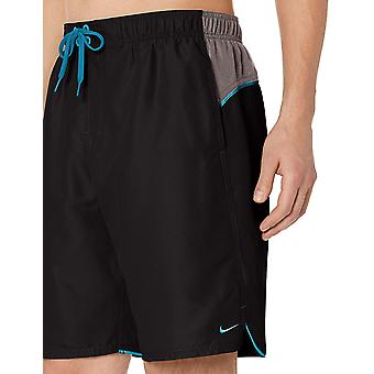 "Nike Swim Men's Color Surge 9"" Volley Short Swim Trunk, Schwarz, Mittel"