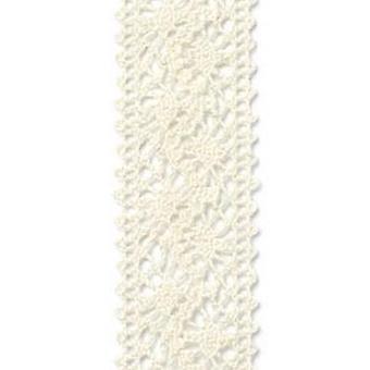 Vivant Ribbon LaceChantilly grädde / elfenben - 5 MT 22MM
