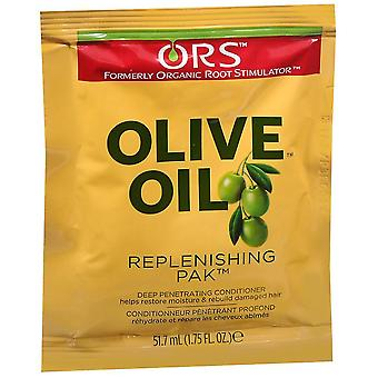 Ors olive oil replenishing pak, 1.75 oz