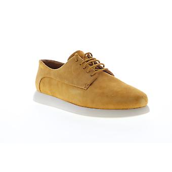 Camper Monday  Womens Brown Suede Lace Up Flats Oxfords Shoes