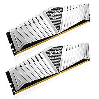 Adata، وحدة الذاكرة، 2133 ميغاهرتز، 8GB DDR4-2133 8GB DDR4 الأبيض 8GB (4GBx2)