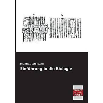 Einfhrung in die Biologie by Maas & Otto