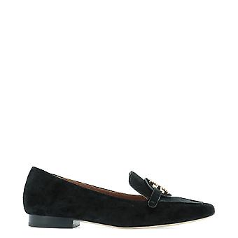 Tory Burch 63250013 Women's Black Suede Loafers