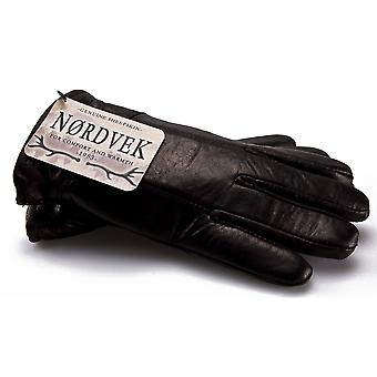 Nordvek Gents Genuine Leather Sheepskin Lined Glove