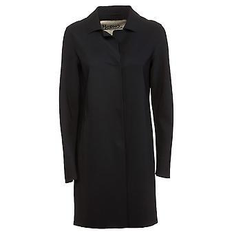 Herno Ca0292d13455s9300 Women's Black Nylon Coat