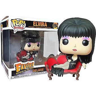 Elvira on Couch US Exclusive Pop! Deluxe