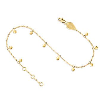 Anklet Constellation Hanging Full 18K Gold - Yellow Gold