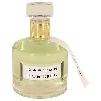 Carven L'eau De Toilette Eau De Toilette Spray (Tester) By Carven 3.4 oz Eau De Toilette Spray
