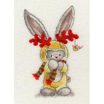 Bothy Threads Bebunni Cross Stitch Kit - Rudolf