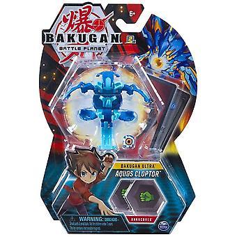 Bakugan Ultra 1 Pack 3 Inch Figure Aquos Cloptor