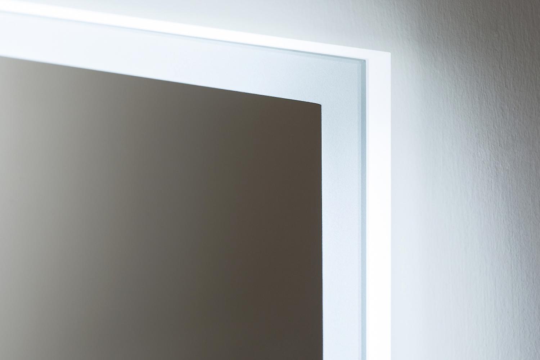 Miroir de salle de bains Audio Slimline Edge avec Bluetooth et Capteur k717aud