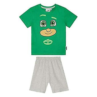 Pj masks boys pyjama green short sleeve pjm2973
