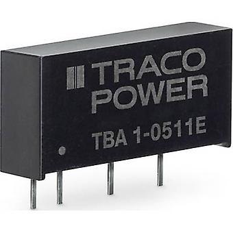 TracoPower TBA 1-2421E DC/DC converter (print) 100 mA 1 W No. of outputs: 2 x