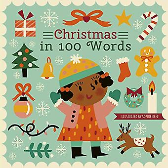 Christmas in 100 Words by Sophie Beer - 9780711242623 Book
