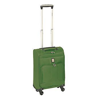 Controleren. IN Paradise Florence Handbagage Trolley S, 4 wielen, 55 cm, 29 L, groen