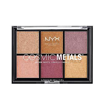 Nyx Maquillaje Profesional Cosmic Metals Shadow Palette 6x1,37gr Para Mujer