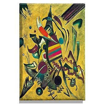 Autores' Inspiración 176 Pintura multicolor en PES, Madera, L60xP3xA90 cm