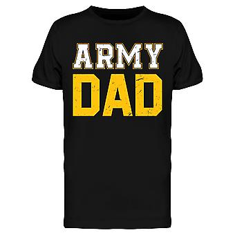 Army Dad Lettering Men's T-shirt