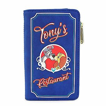 Loungefly Disney Lady And The Tramp Wallet