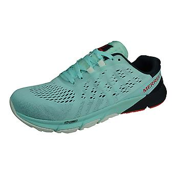 Merrell Bare Access Flex 2 E-Mesh Womens Trail Running Trainers / Shoes - Turquoise