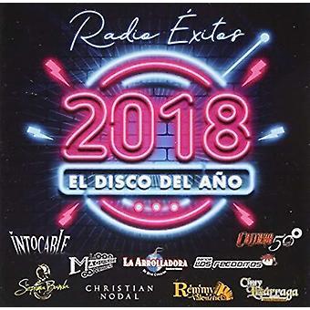 Various Artist - Radio Exitos El Disco Del Ano 2018 [CD] USA import