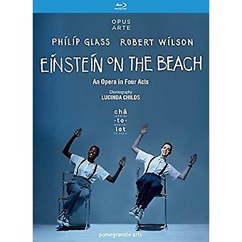 Glass & Wilson: Einstein on the Beach [Blu-ray] USA import