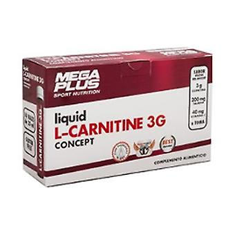 L-Carnitine 3G Concept 14 ampoules of 25ml (Wild berries)