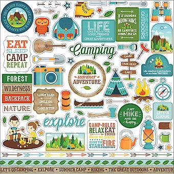 Echo Park Summer Adventure 12x12 Inch Element Sticker