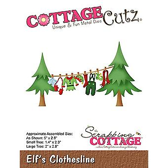 Scrapping Cottage Elf-apos;s Clothesline