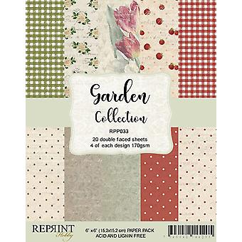 Reprint Garden Collection 6x6 Inch Paper Pack