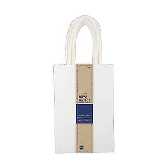Papermania أساسيات عارية صغيرة أكياس هدية بيضاء (5 أجهزة الكمبيوتر الشخصية) (PMA 174207)