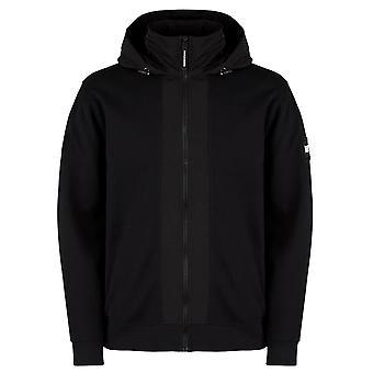 Weekend Offender Bracco Full Zip Up Hood Jacket - Black