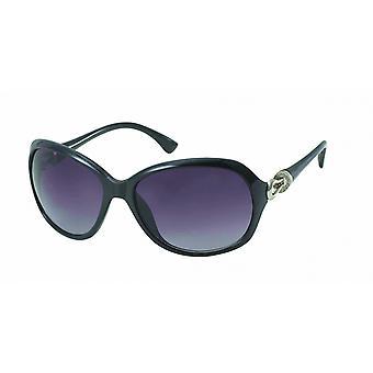 Solglasögon Unisex svart