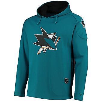 Ikoninen Franchise Pitkä huppari - NHL San Jose Sharks