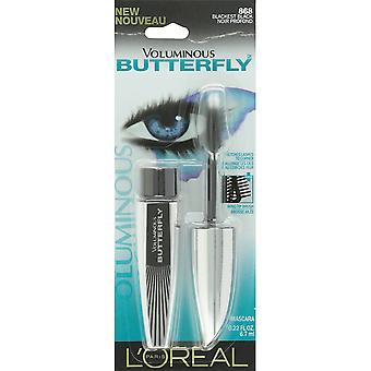 L'Oreal Paris Voluminous Butterfly Mascara, 868 Blackest Black,  0.22 Fluid Ounce