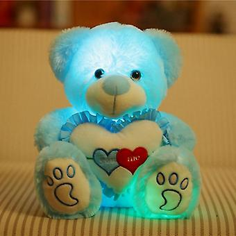 Light Up Led Teddy Bear Plush Toy - Colorful Stuffed Animals
