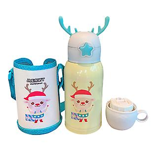 Travel mug food grade stainless steel children's kettle, can be used for vacuum insulated mugs with lids for coffee and tea