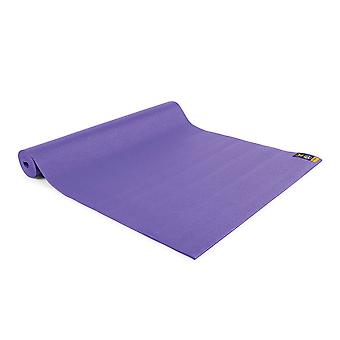 fitness mad warrior yoga ii mat 4mm purple for yoga and pilates