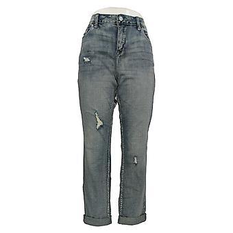 Laurie Felt Women's Jeans Classic Denim Weekender 5-Pocket Blue A301662